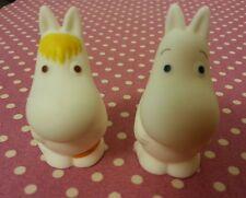 Moomin VALLEY  Moomintroll  n Snork Maiden  Finger Figure 2 pcs set