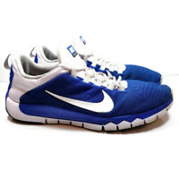 Nike Free Trainer TR 5.0 Mens Sz 15 Blue White Running Training Shoes