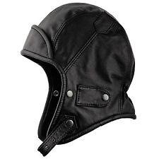 Genuine Leather Trapper Aviator Hat Pilot Biker Bomber Hood Vintage Snap  Bill 59 Cm - L ee4d625b525