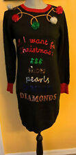 Reference Point Ladies Christmas Sweater Dress Size Medium