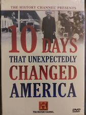 10 Days That Unexpectedly Changed America 3-Disc DVD Set -History Channel SEALED