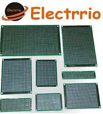 EL225X Lote 8 Placa Perforada variadas DOBLE CARA Prototipo PCB electronica