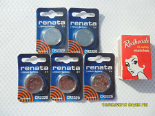 CR2320 Renata Watch Battery.