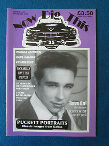 Now Dig This Magazine - Issue 308 - Nov 2008 - Rock n' Roll Johnny Carroll Cover