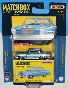 MATCHBOX 2021 PREMIUM COLLECTORS 1962 MERCEDES-BENZ 220 SE