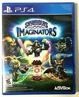 * PS4 Imaginators Skylanders Activision Playstation 4 Game, Case & Art Work 👾