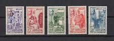 Maroc Royaume du Maroc 1956 série de 5 timbres anciens neufs /T453