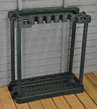 Selections Garden Tool Rack Storage With Wheels