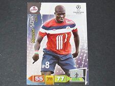 MOUSSA SOW LILLE LOSC UEFA PANINI CARD FOOTBALL CHAMPIONS LEAGUE 2011 2012