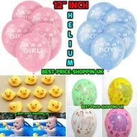 Its a Boy Blue / ITS A GIRL Balloons Baby Shower Party Decorations Latex BALOONS