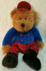 """Russ Berrie Bears From The Past BANDY No. 1818 Bandleader 12"""" Plush Stuffed Bear"""