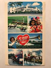 Calder Race Course, 15 minutes from Downtown Miami, Florida FL Postcard