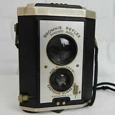 Vintage Brownie Reflex Box Camera Synchro Model Eastman Kodak USA