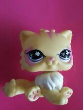 Littlest Petshop Amarillo Y Rosa Gato Persa