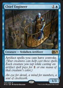 Chief Engineer x4 Magic the Gathering 4x Magic 2015 mtg card lot