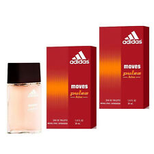 Lot of 2 Adidas Moves Pulse Him for Men 1.0 oz 30 ml EDT Spray Perfume cologne