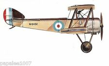 "Model Airplane Plans (FF): Sopwith Pup 1/12 scale 26½""ws for .5-.8cc (.049ci)"