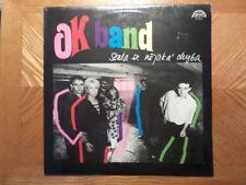 CZECHOSLAVAKIA SUPRAPHON LP RECORD/OK BAND/  STALA SE NEJAKA CHYBA/ EX+ VINYL