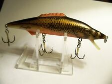 (1)Tom Mann's Bowfin Minnow, 4-1/4in., Crankbaits, Fishing,Lures,Old Tackle,Box,