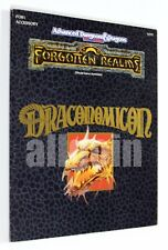 Dungeons & Dragons FORGOTTEN REALMS DRACONOMICON (FOR1) 1990 TSR #9297 AD&D D&D