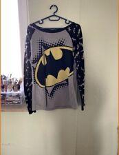 DC Comics Batman Damen Pullover Schwarz Gelb Bat Signal Superheld Geek