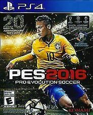 Pro Evolution Soccer 2016 - Sony Playstation 4 Game - Complete