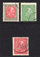 Iceland 3 Stamps c1902 Used (7405)