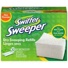 Swiffer Sweeper Dry Sweeping Cloths Refills, Unscented 32 ea