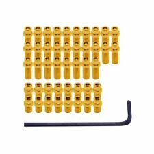 DMR FlipPin 44 Steel Replacement Pedal Pins for Vault Pedals - Gold