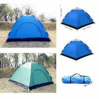 3-4 Person Camping Backpacking Tents Waterproof Automatic Pop-Up Outdoor Tent US