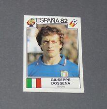 DOSSENA ITALIE ITALIA ESPAÑA 82 RECUPERATION PANINI FOOTBALL ESPAGNE 1982 WM