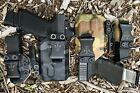 Davis Tactical IWB Light Bearing Kydex Holster For Glock 19//19X/23/32/45 TLR-7