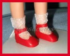 "RED Reproduction 8"" Tiny Betsy McCall SHOES Kickits U.S. SHIPS FREE"