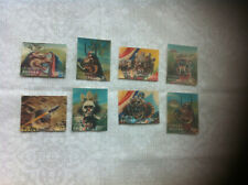Bhutan 3D view MNH 8 stamps