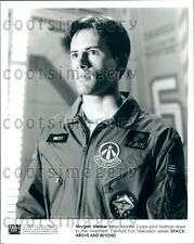 1995 Actor Morgan Weisser in 1990s TV Show Space Above & Beyond Press Photo