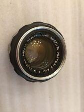 Nikon NIKKOR 50mm f/1.4 non Ai MF Lens, Slight Issues, See Pics!
