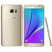 New Overstock Samsung Galaxy Note 5 SM-N920V 32GB Gold For Verizon