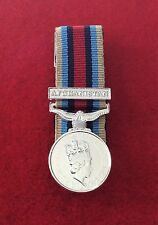Quality Court Mounted OSM Afghanistan Miniature Medals