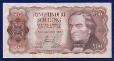 More details for austria, 1965 500 schilling banknote (ref. b1127)