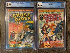 Marvel Spotlight #6 10/72 CGC 5.0 /  #11 8/73 CGC 6.5 Pick Your Comic Book