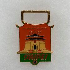 1987 70th Annual Lions Clubs International Convention Taipei Badge