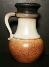 Vintage W. Germany Scheurich Keramik Water Jug Ewer Pitcher Pottery 496-18