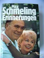 Max Schmeling Erinnerungen 1977 Biografie