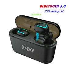 Ipx5 Wireless Bluetooth Headset Tws Mini Stereo Bass Headphones Earphone Earbuds