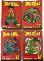 Dragon N Ball Z: Volume 13-16 Manga Akira Toriyama Shonen Jump Graphic Novels