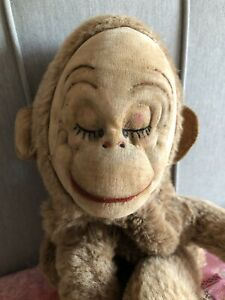 Vintage Merrythought Monkey Pyjama Case