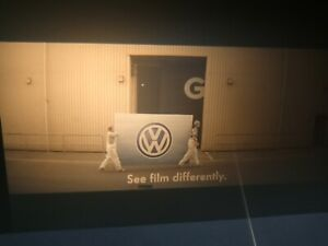 35mm Cinema VW see film differently Advert
