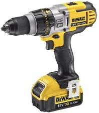 DEWALT Cordless Variable & Reversing Speed 18v Combi Drill - 13mm Keyless Chuck