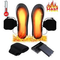 Elektrisch Beheizbare Einlegesohlen Schuheinlagen Heizsohlen Schuhwärmer