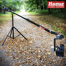 Hague Camera Crane Kit with Jib, Stand & Motorized Pan & Tilt Head (K10-UPH)
